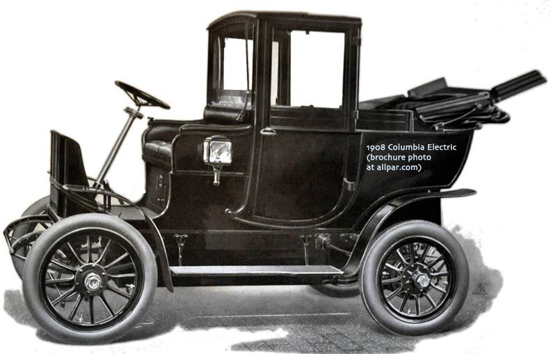columbia electric car