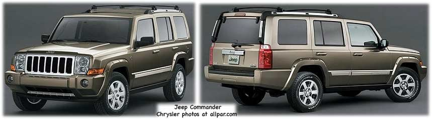 Jeep Commander suv