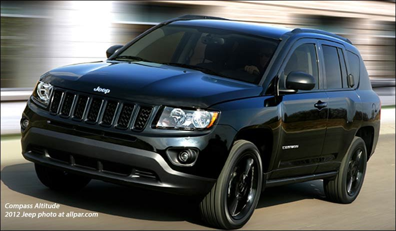 2012 Jeep Compass Altitude special edition