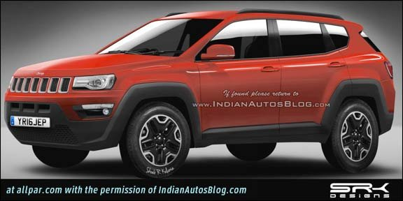 2018 Jeep Compass rendering