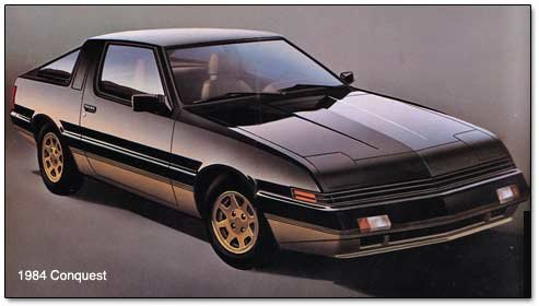 1983 1989 Plymouth Chrysler Conquest