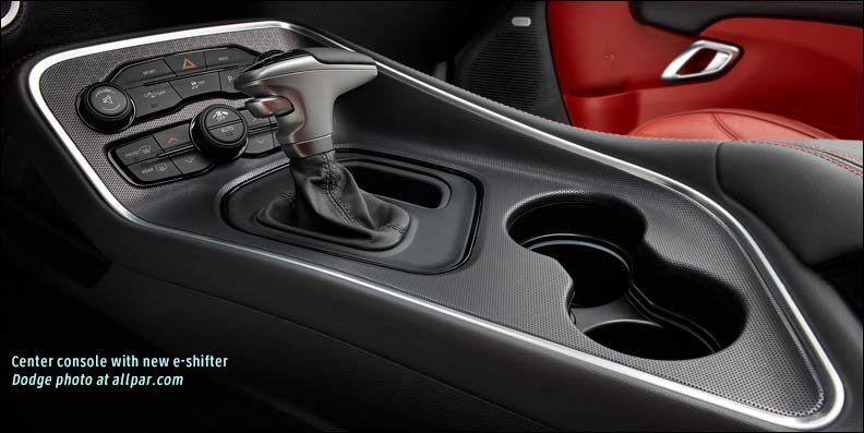 console shifter