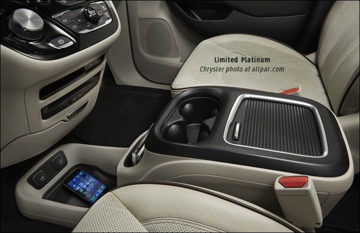 2018 chrysler town country limited platinum. consoles 2018 chrysler town country limited platinum