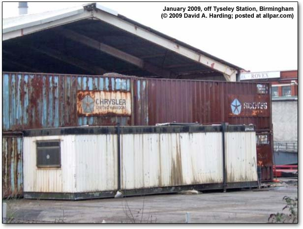 Chrysler containers