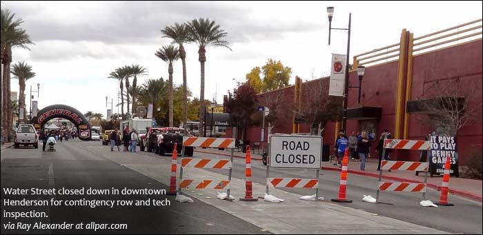 contingency row and tech