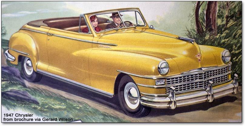 chrysler corporation postwar models  1946