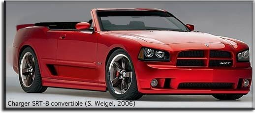 Dodge Charger convertible