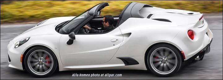 Convertible on Alfa Romeo Spider Frame