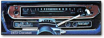 1973 dodge coronet dashboard