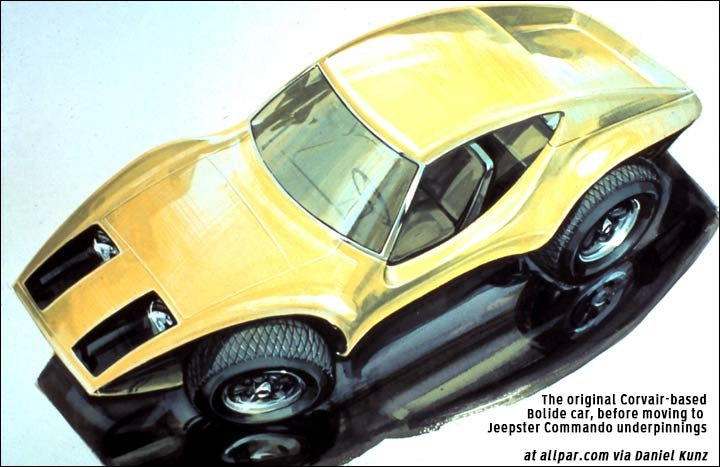 corvair based concept