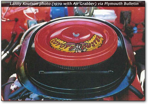 Coyote Duster air cleaner