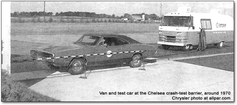 1970 Dodge Charger crash test