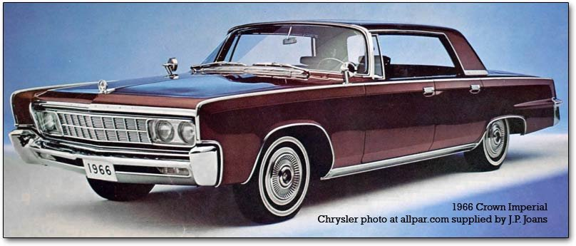including some in the Chrysler lineup. crown imperial