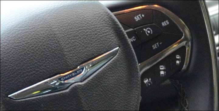 cruise control steering wheel