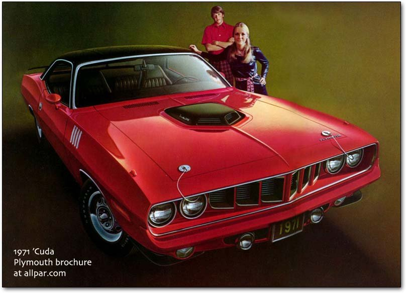 cuda 1971 chrysler corporation cars and trucks  at bakdesigns.co