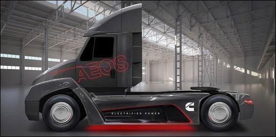 Cummins electric truck
