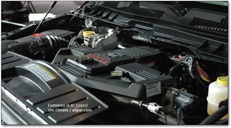 Cummins high output engine