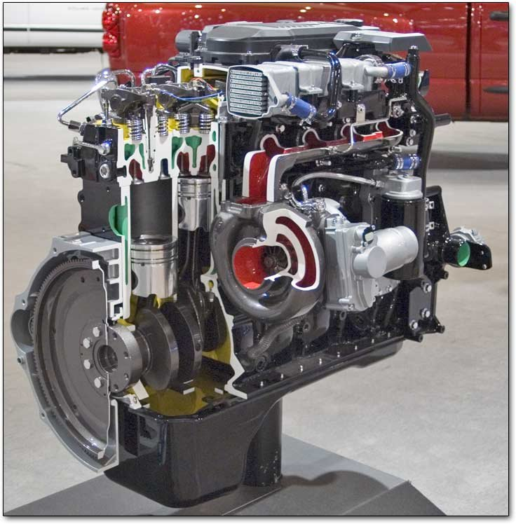 Cummins 5 9 Liter And 6 7 Liter Inline Six Cylinder Diesel Engines