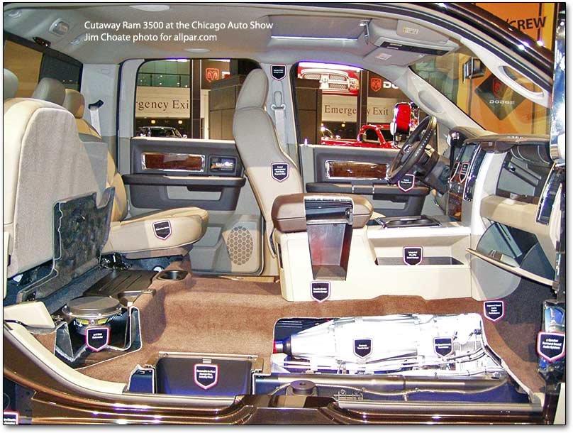 2011-2012 Dodge Ram Chassis Cabs: Ram 3500, Ram 4500, Ram 5500