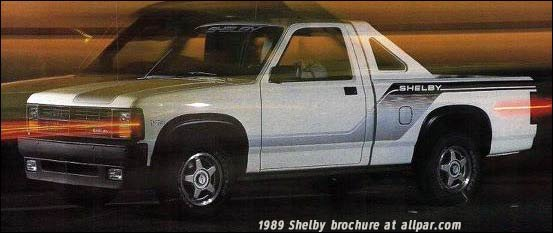 dodge dakota shelby
