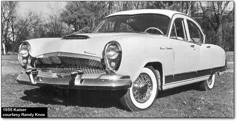 history of kaiser cars (1947 1955)