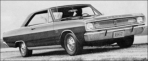 1967 dodge dart weight