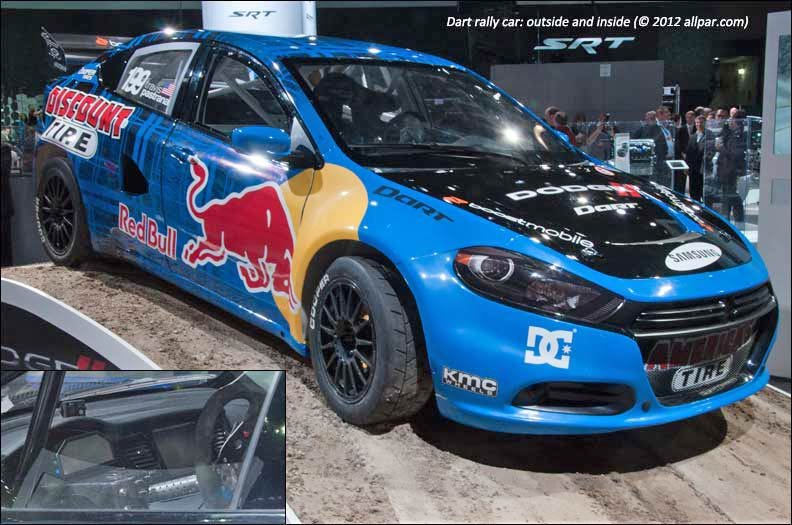 Dart Rally Car