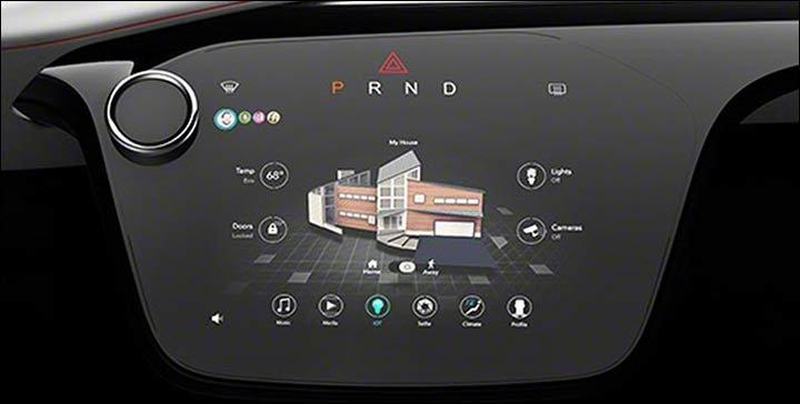 2017 Chrysler Portal Concept Minivan Future Tech