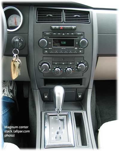 Dodge Magnum Interior