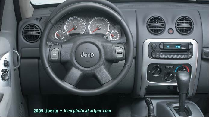 Jeep Liberty 2005 gauges - car review