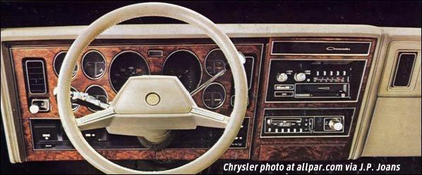 1980 Chrysler Cars Lebaron Newport New Yorker Cordoba