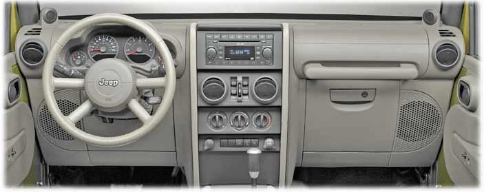 Jeep Wrangler Interior  2007
