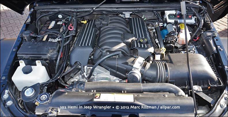 Jeep Wrangler Hemi >> 2012 Jeep Wrangler Apache: Hot Hemi Wrangler concept car