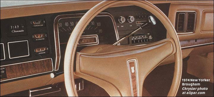 1974 And 1975 Chrysler Cars