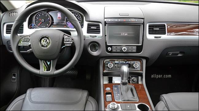 2015 Volkswagen Touareg Lux V6 Car Review
