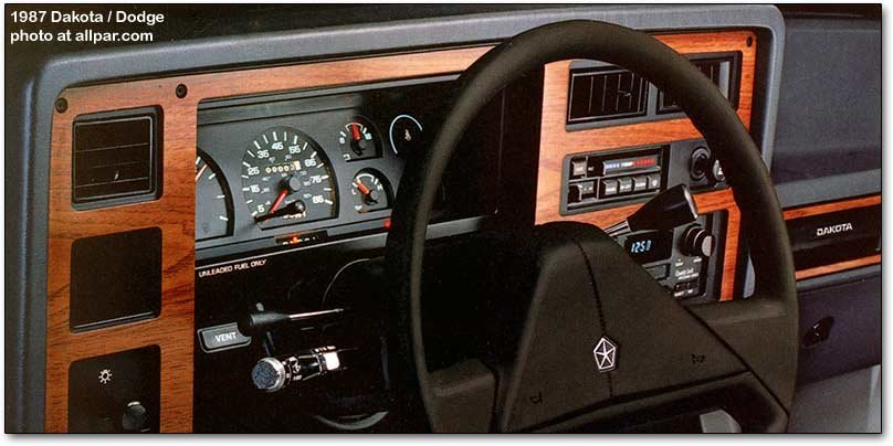 dodge dakota dashboard