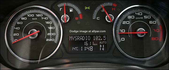 dodge vision dashboard