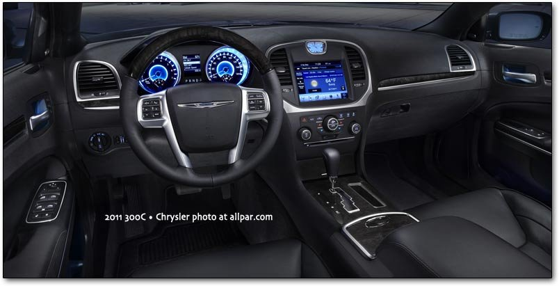 2011 Chrysler 300c Cars Interior Electronics And Safety
