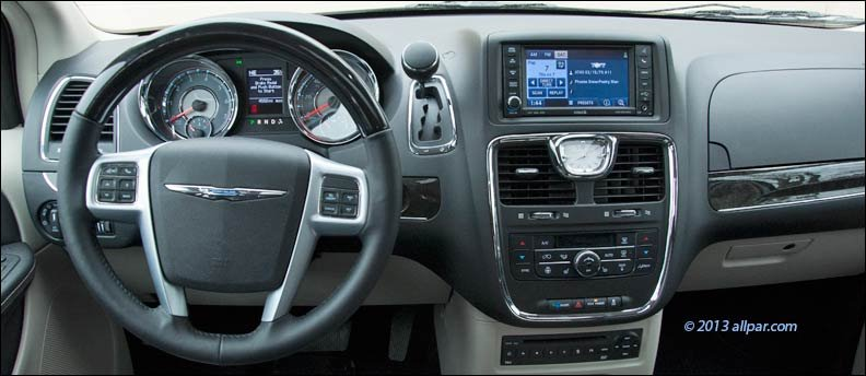 2008-2017 Dodge Caravan / Chrysler Town & Country climate
