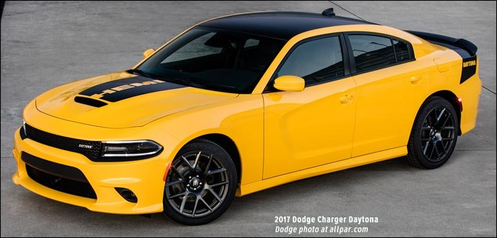 2017 Dodge Challenger T A And Charger Daytona