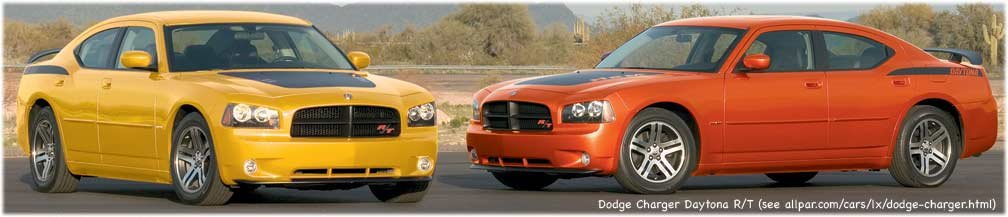 2006 Dodge Charger Daytona R/T cars on track