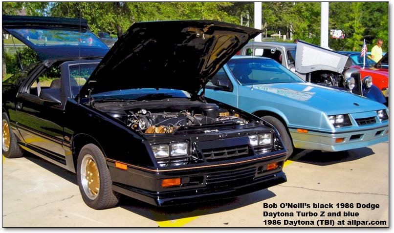 1986 Dodge Daytonas