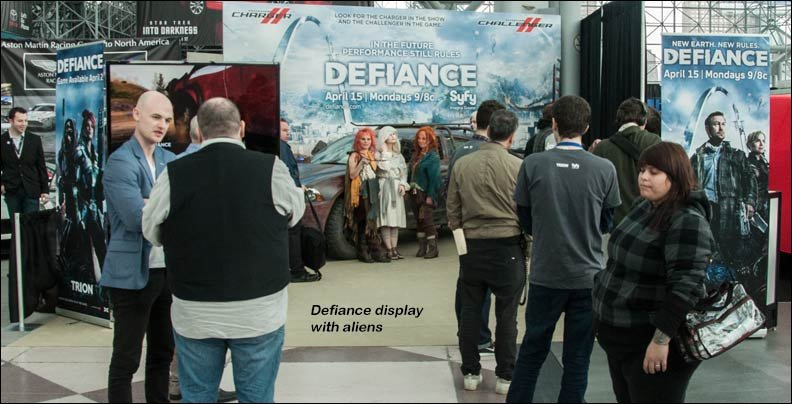 defiance display