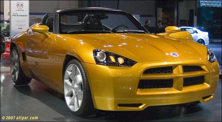 Dodge Viper Used >> 2007 Dodge Demon concept cars