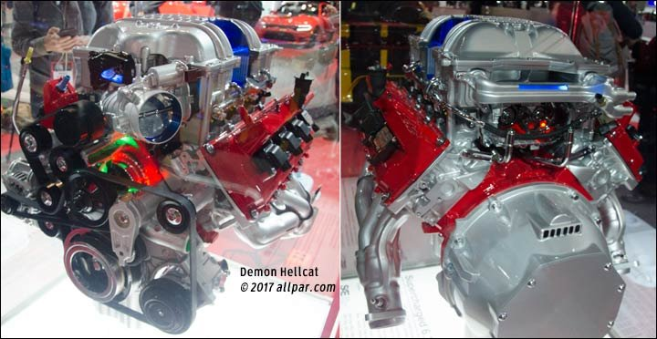 demon hellcat engine