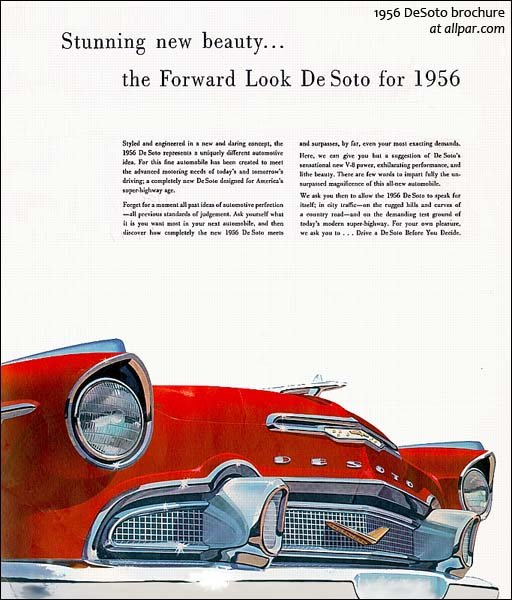 Plymouth And DeSoto Buyer's Guide, The 1950s