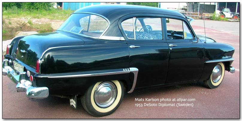 1953 DeSoto Diplomat from Sweden