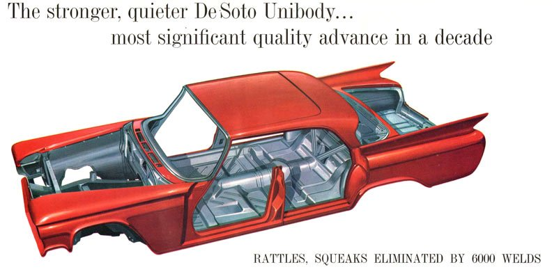 Chrysler Moves To Unibody Unit Body Construction 1960