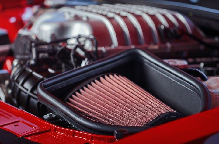 Hellcat engine from Dodge Demon
