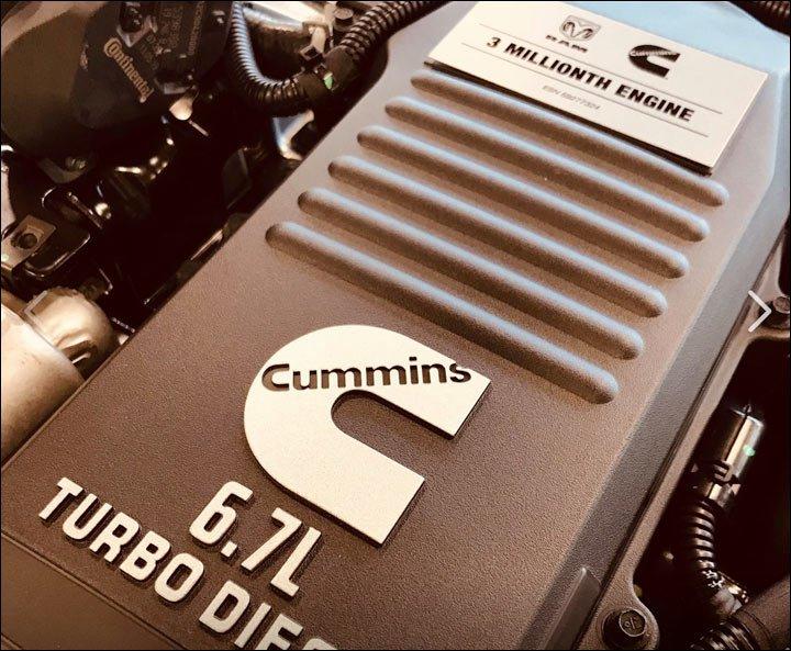 cummins diesel #3,000,000
